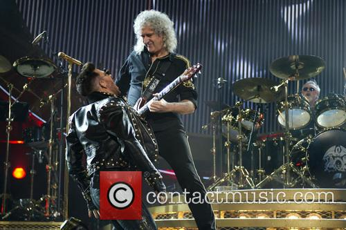 Brian May, Queen and Adam Lambert 6