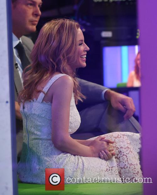 Kylie Minogue and Peter Jones 2