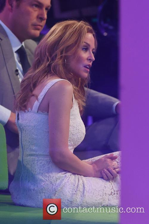 Kylie Minogue and Peter Jones 3