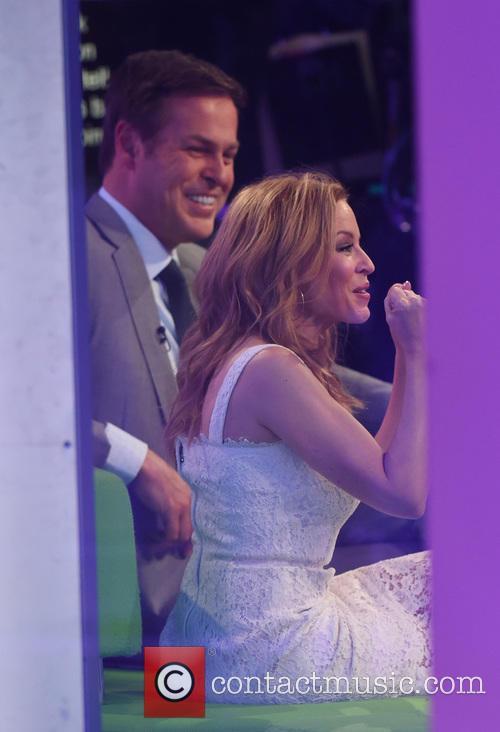 Kylie Minogue and Peter Jones 4