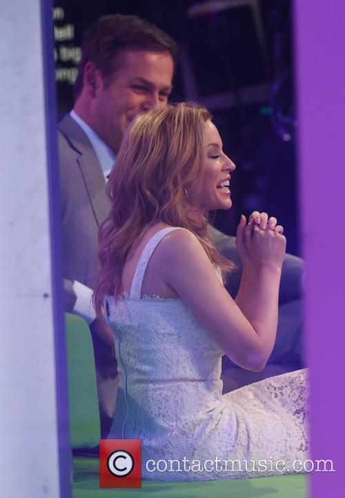 Kylie Minogue and Peter Jones 5