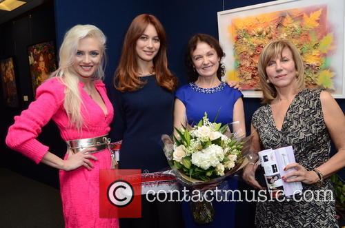 Lana Holloway, Olga Kurylenko, Marina Alyabusheva and Charlotte Jones