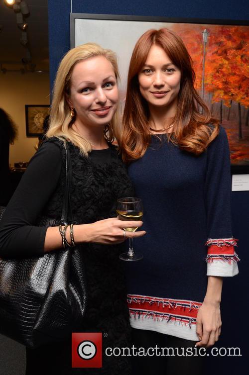 Sasha Nikitina Parkes and Olga Kurylenko 2