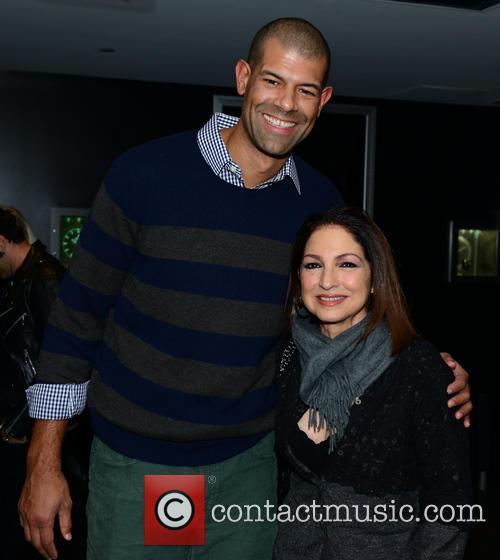 Shane Battier and Gloria Estefan 2