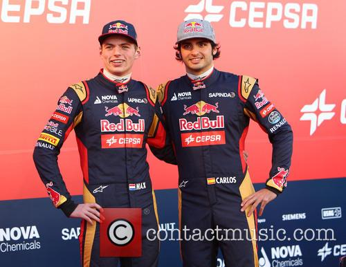 Formula One, Daniil Kvyat and Carlos Sainz Jr. 5