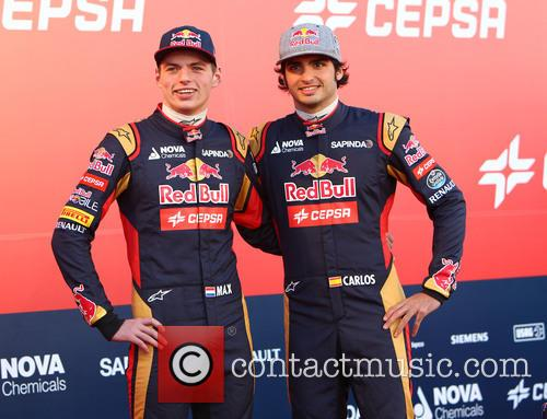 Formula One, Daniil Kvyat and Carlos Sainz Jr. 6