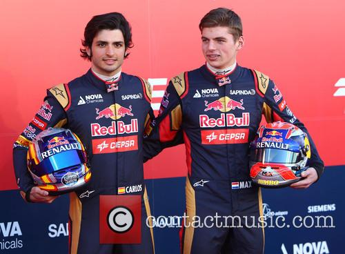Formula One, Daniil Kvyat and Carlos Sainz Jr. 10
