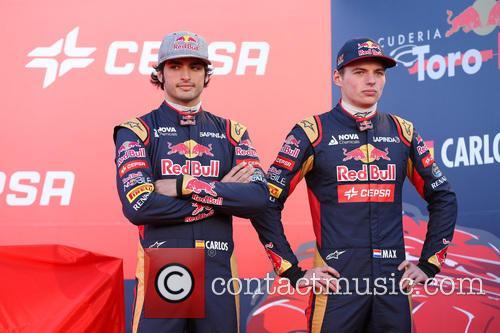 Carlos Sainz Jr and Max Verstappen. 2