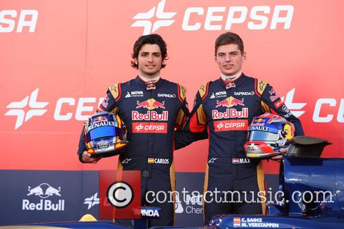Carlos Sainz Jr and Max Verstappen. 1
