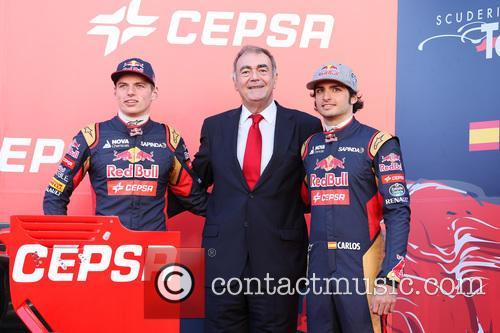 Max Verstappen and Carlos Sainz Jr 2