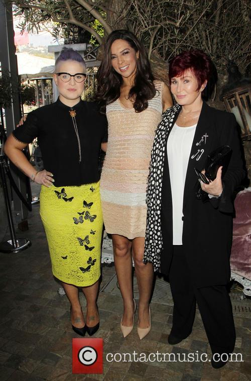 Kelly Osbourne, Terri Seymour and Sharon Osbourne 5