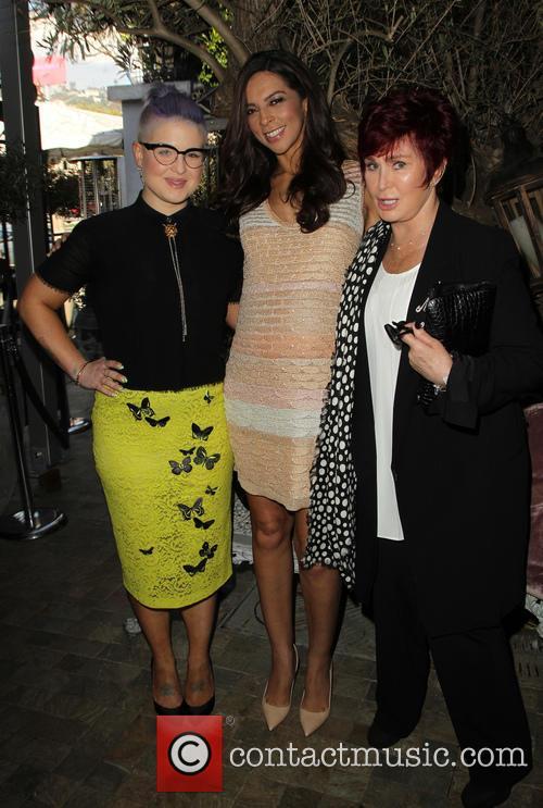 Kelly Osbourne, Terri Seymour and Sharon Osbourne 6