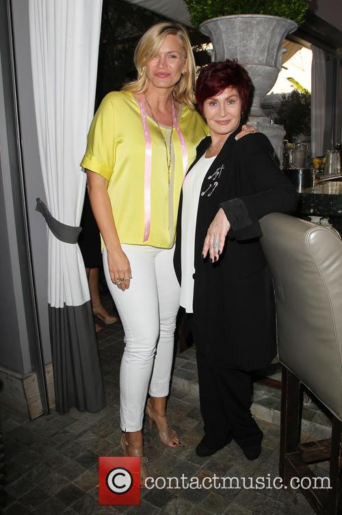 Natasha Henstridge and Sharon Osbourne 6