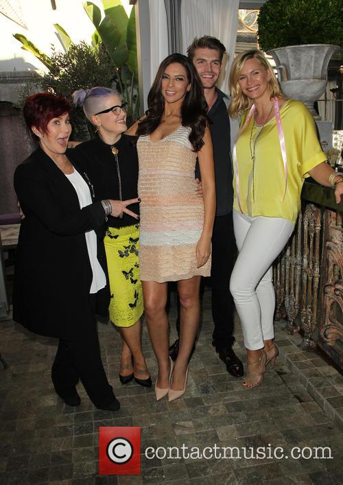 Sharon Osbourne, Kelly Osbourne, Terri Seymour, Clark Mallon and Natasha Henstridge 4