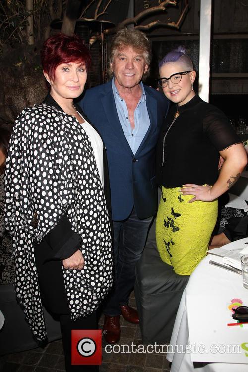 Sharon Osbourne, Ken Todd and Kelly Osbourne 5