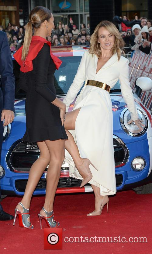 Alesha Dixon and Amanda Holden