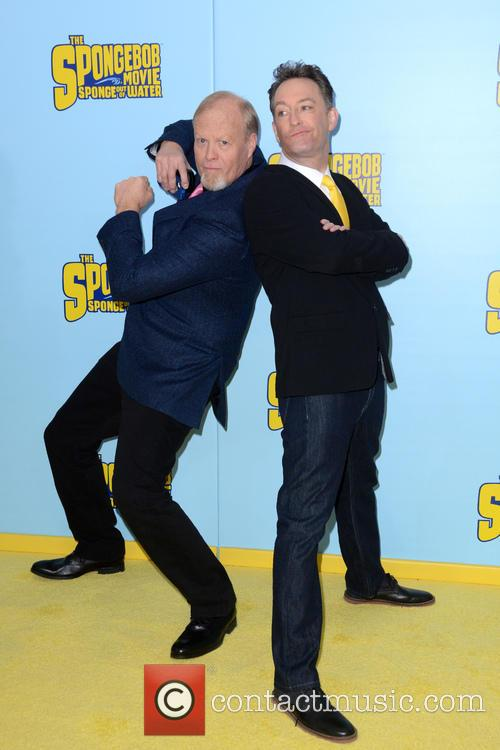 Bill Fagerbakke and Tom Kenny 2