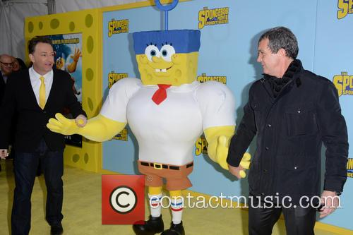 Tom Kenny and Antonio Banderas 10