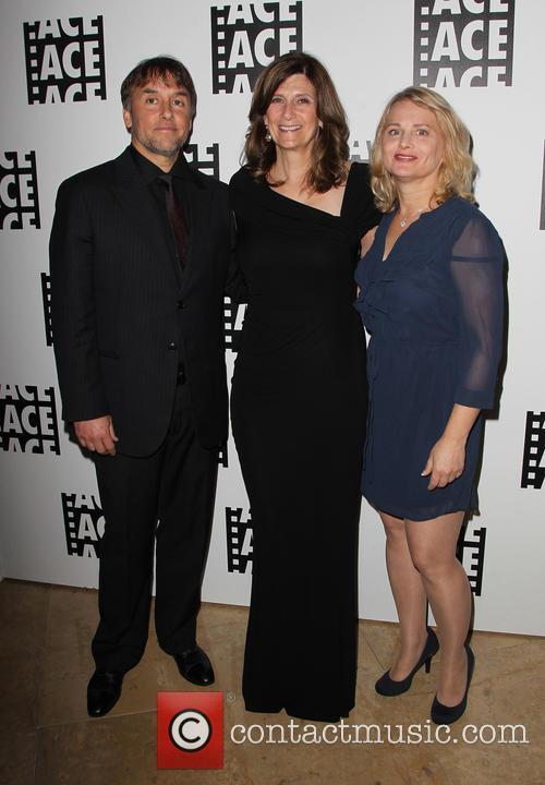 Richard Linklater, Sandra Adair and Guest 2