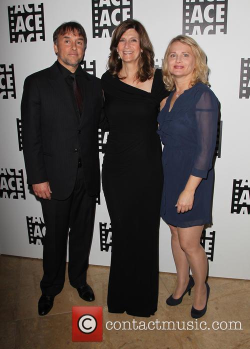 Richard Linklater, Sandra Adair and Guest 3