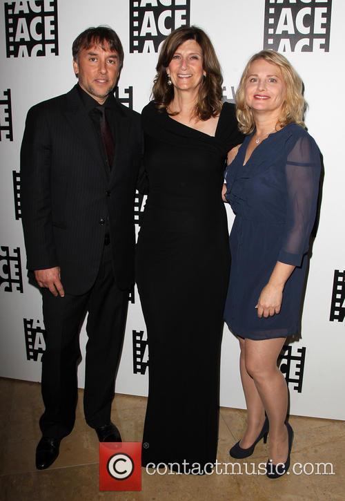 Richard Linklater, Sandra Adair and Guest 1