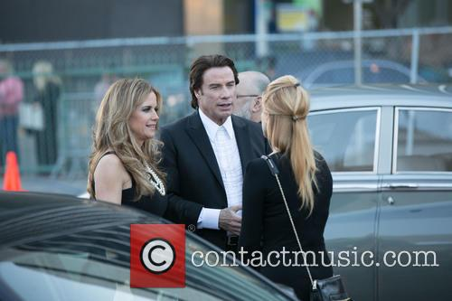 Kelly Preston and John Travolta