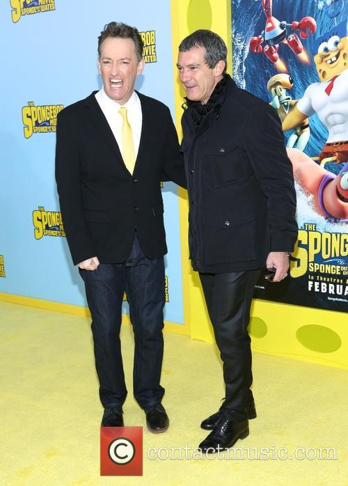 Tom Kenny and Antonio Banderas 4