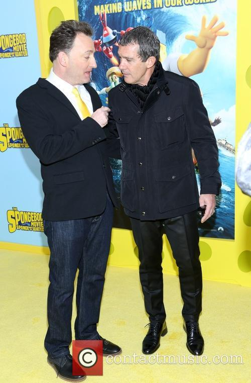 Tom Kenny and Antonio Banderas 5