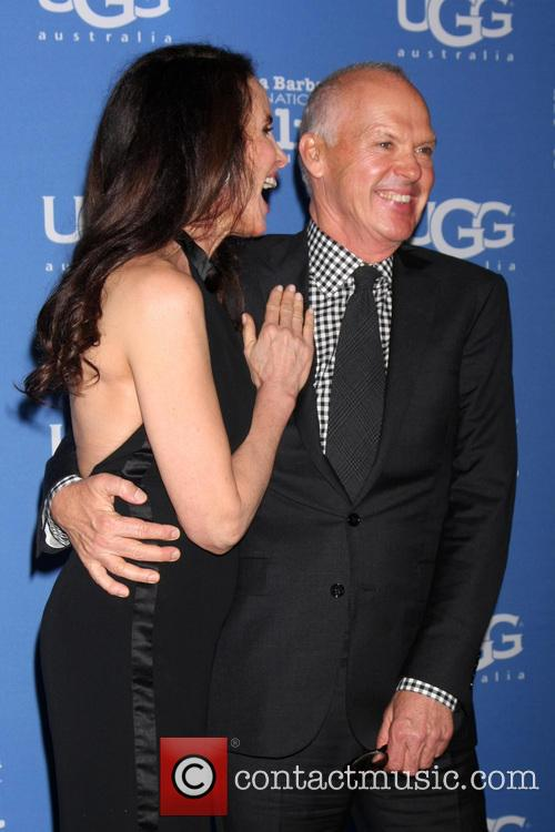 Andie Macdowell and Michael Keaton 7