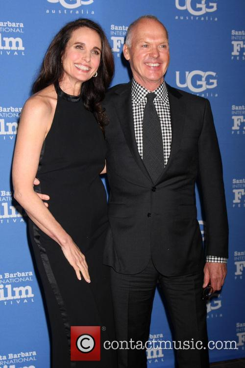 Andie Macdowell and Michael Keaton 1
