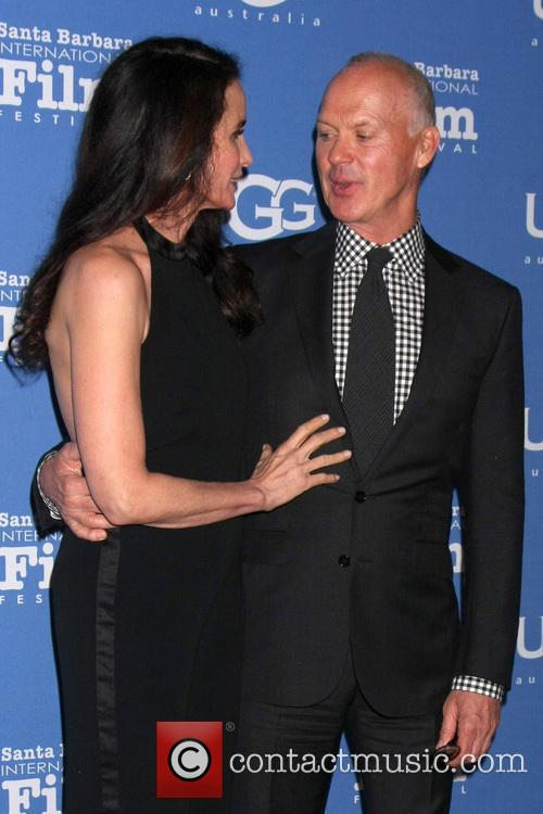 Andie Macdowell and Michael Keaton 8