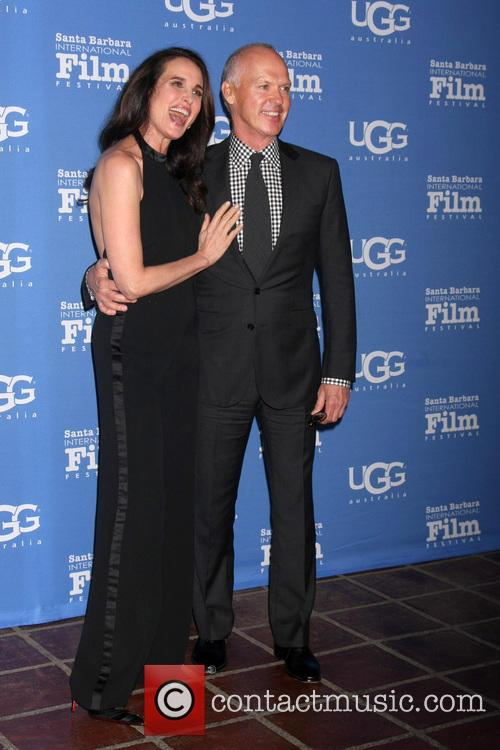 Andie Macdowell and Michael Keaton 9