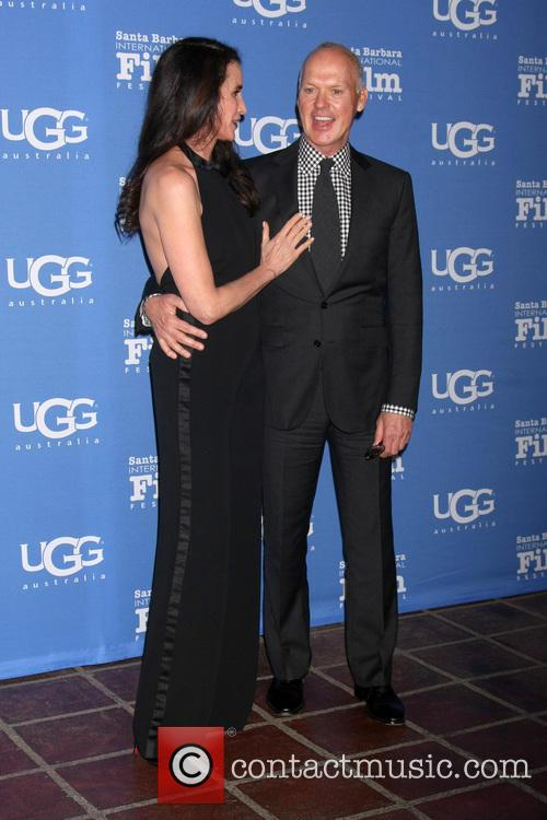 Andie Macdowell and Michael Keaton 10