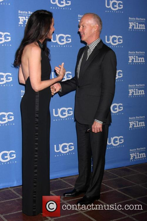 Andie Macdowell and Michael Keaton 11