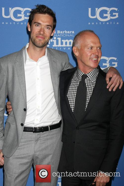 Michael Keaton and Sean Douglas 7