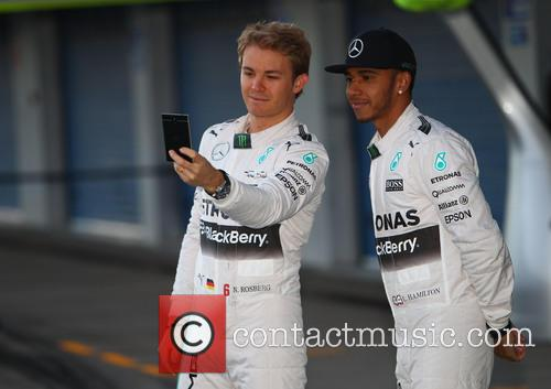 Lewis Hamilton and Nico Rosberg 2