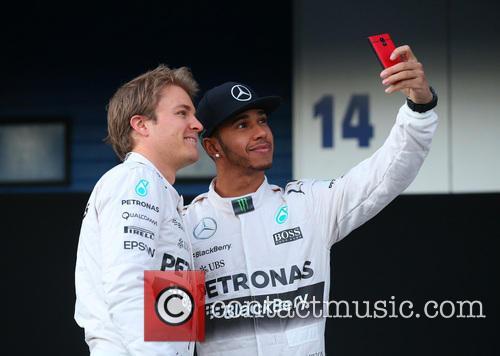 Nico Rosberg and Lewis Hamilton 1