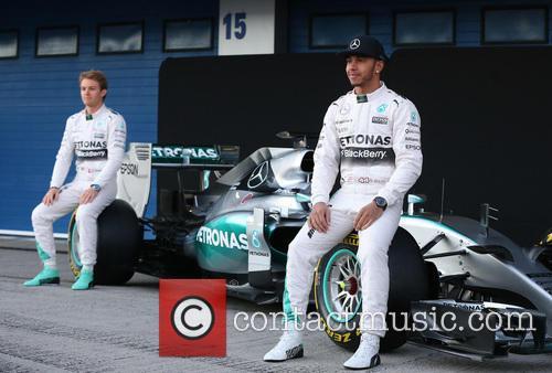 Nico Rosberg and Lewis Hamilton 7