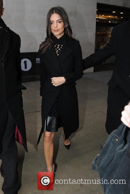 Emily Ratajkowski out in London