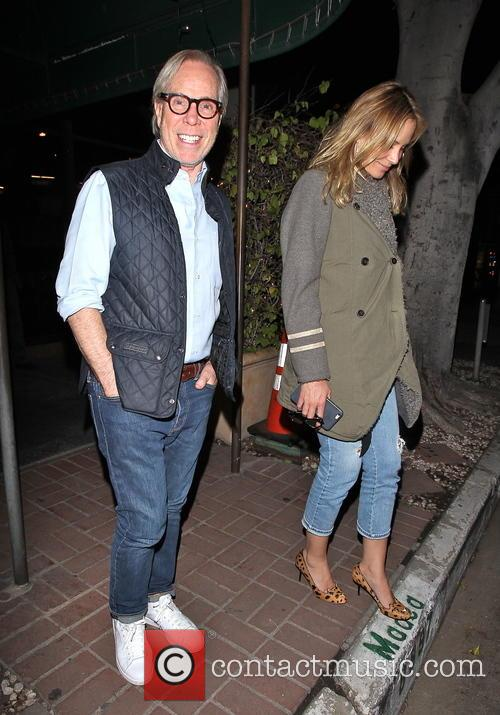 Tommy Hilfiger and Dee Ocleppo leaving Madeo
