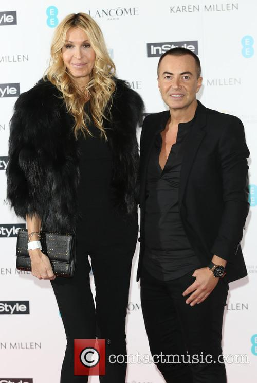 Melissa Odabash and Julien Macdonald 1