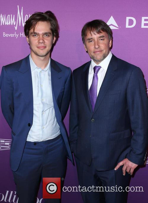 Ellar Coltrane and Richard Linklater 7