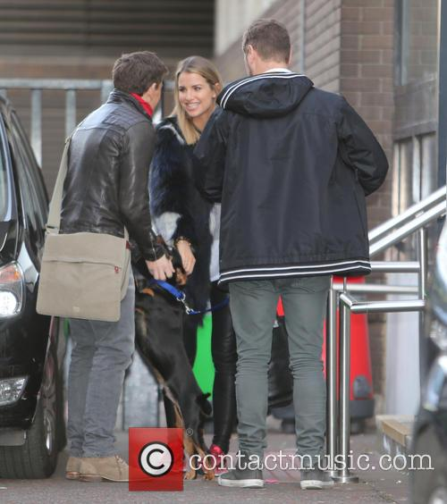 Brian Mcfadden, Vogue Williams and Ben Shephard 2