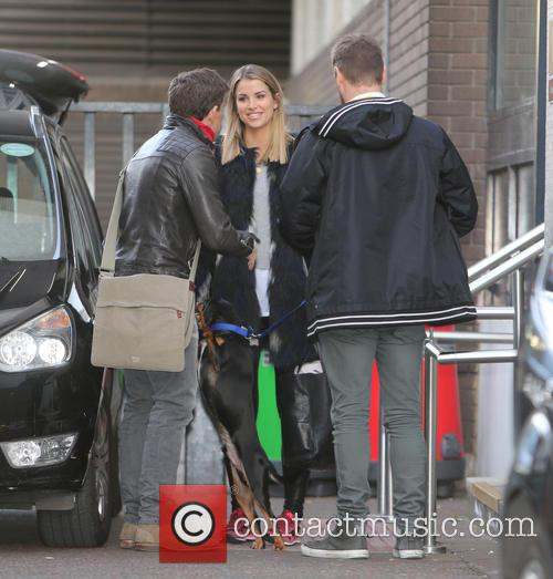 Brian Mcfadden, Vogue Williams and Ben Shephard 3