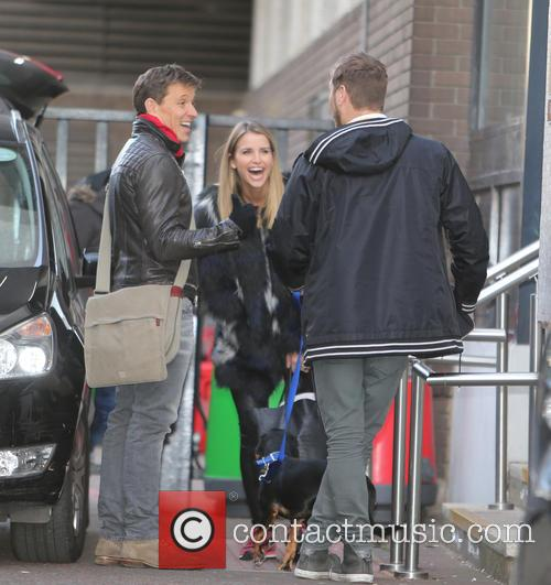 Brian Mcfadden, Vogue Williams and Ben Shephard 5