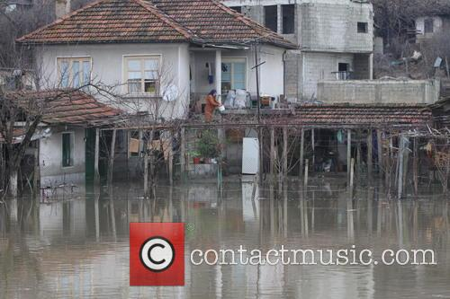 Bulgarian homes destroyed after heavy flooding