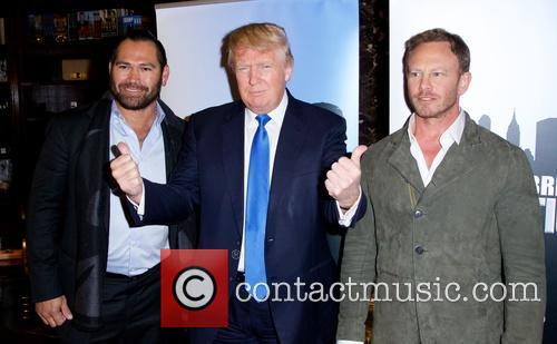 Donald Trump and Ian Ziering 4