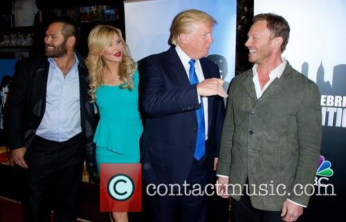 Johnny Damon, Brandi Glanville, Donald Trump and Ian Ziering