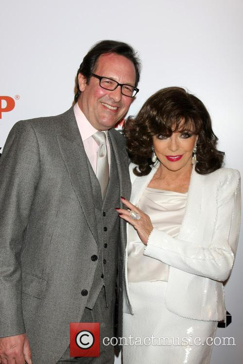 Percy Gibson and Joan Collins 2