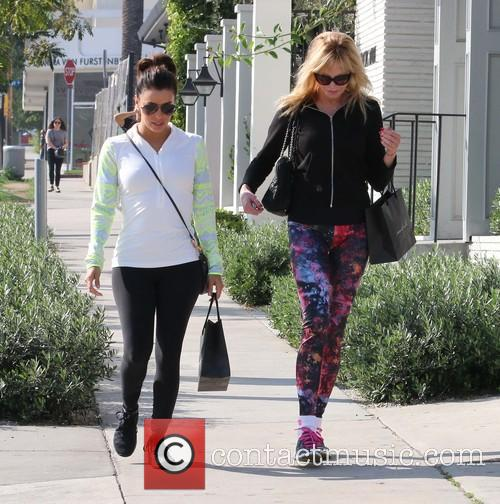 Eva Longoria and Melanie Griffith 2
